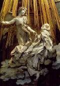 Gian Lorenzo BERNINI - The Ecstasy of Saint Therese 1647-52