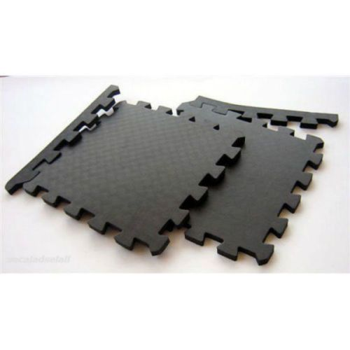 PieceRubberGymFloorMatsWaterproofInterlockingExercise - How to clean black rubber gym flooring