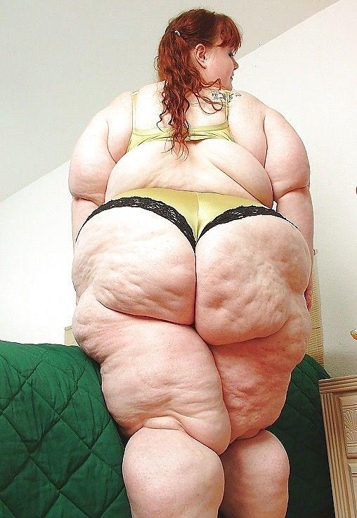 super fat naked women