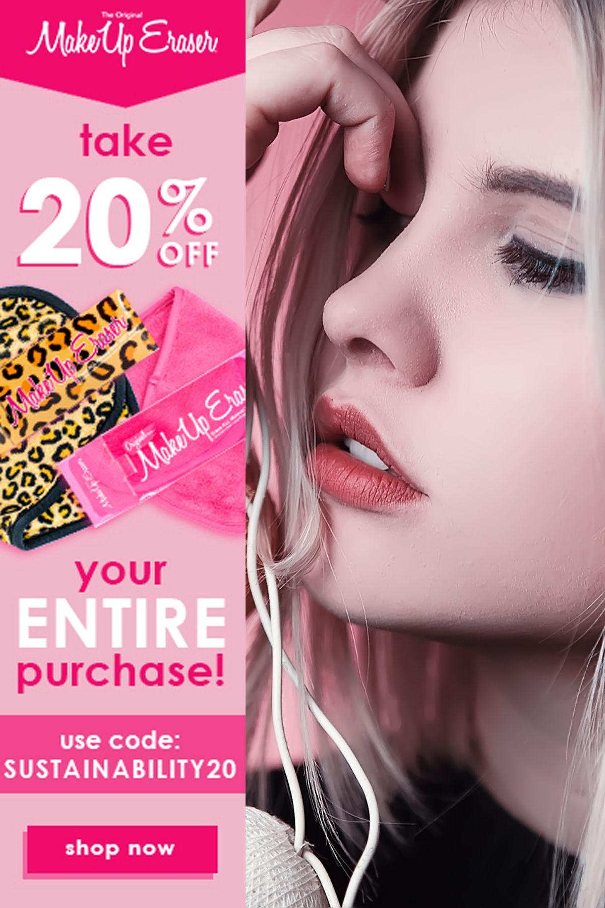 The Original Make Up Eraser Eco friendly beauty, Beauty