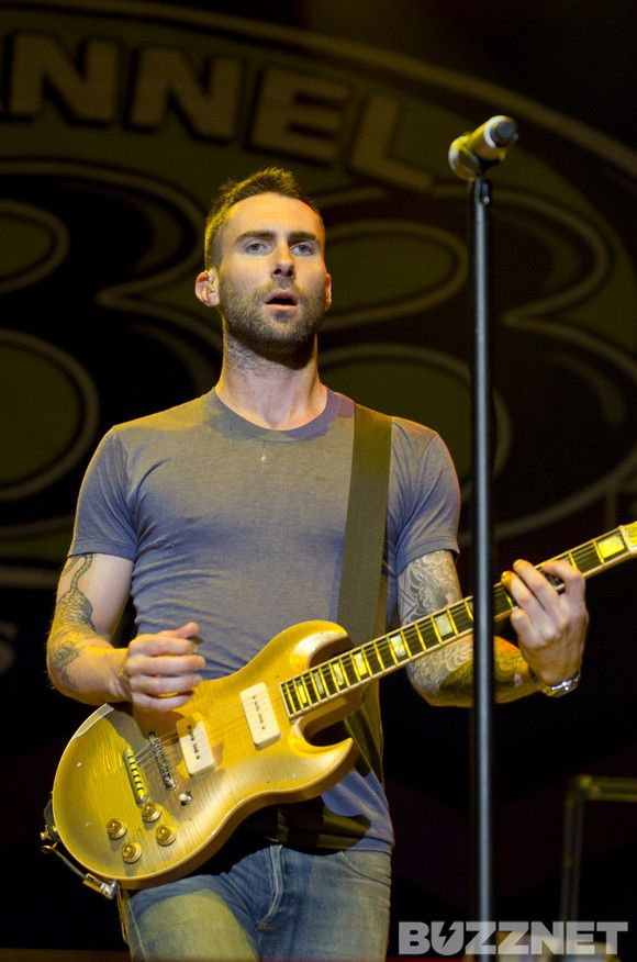 Maroon 5 at Channel 933's Summer Kickoff. We love you, Adam Levine!