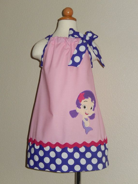 Bubble Guppies Oona Pillowcase Dress by Just4Princess on Etsy ...