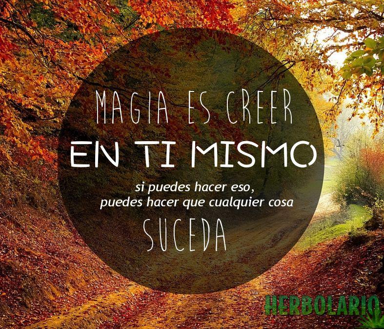 #Magia #Creer #CitasInspiradora