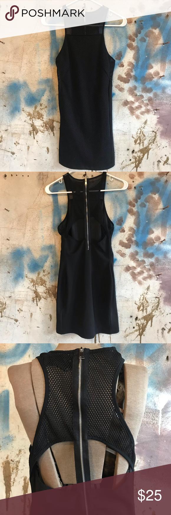 H M Mesh Panel Little Black Dress Little Black Dress Dresses Clothes Design [ 1740 x 580 Pixel ]