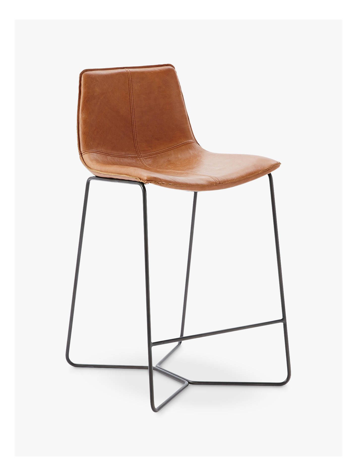 Remarkable West Elm Slope Leather Bar Stool Brown In 2019 Homeowners Beatyapartments Chair Design Images Beatyapartmentscom