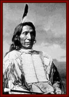 "Chief Red Cloud. ""What has been done in my country I did not want...when the white man comes in my country He leaves a trail of blood behind him."""