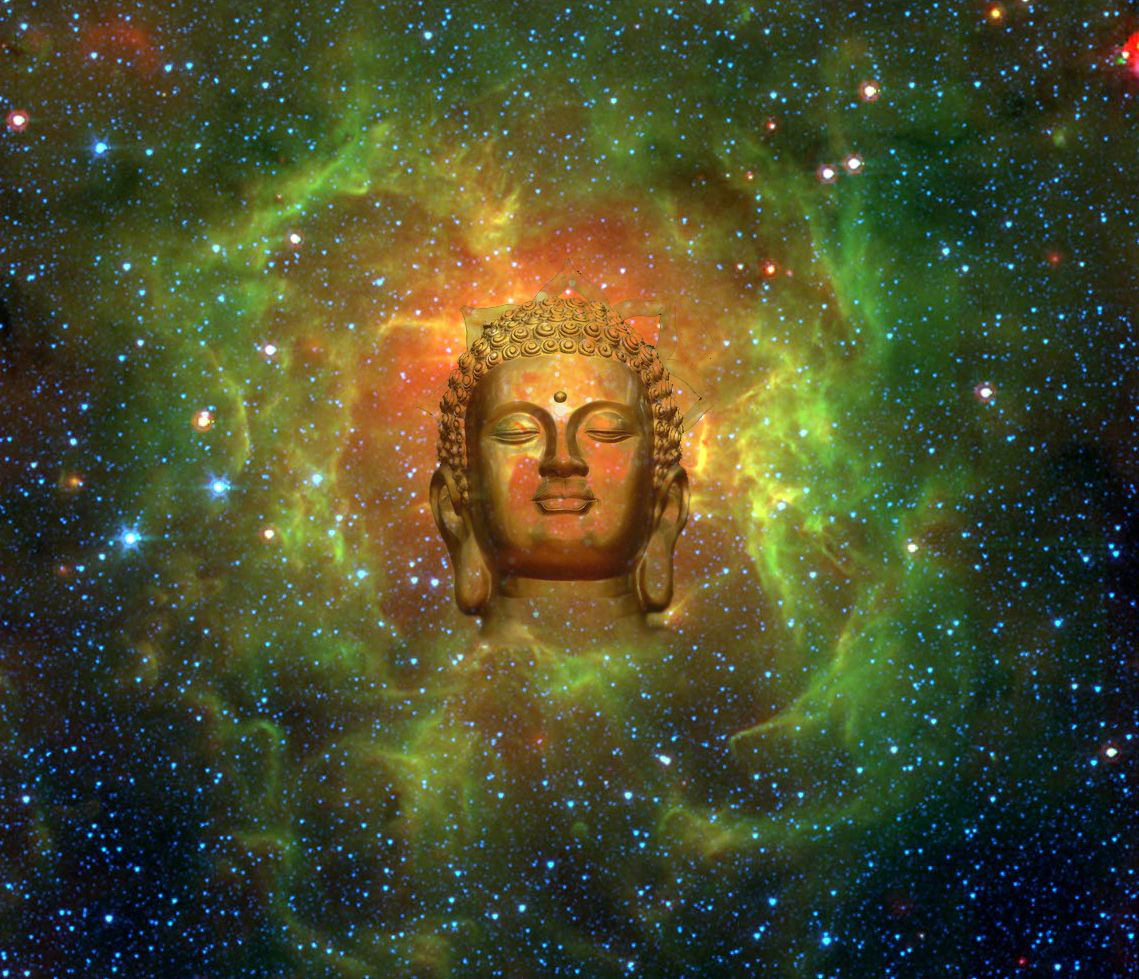 Cosmic Buddha Canvas Print / Canvas Art by Jody Brusca ...