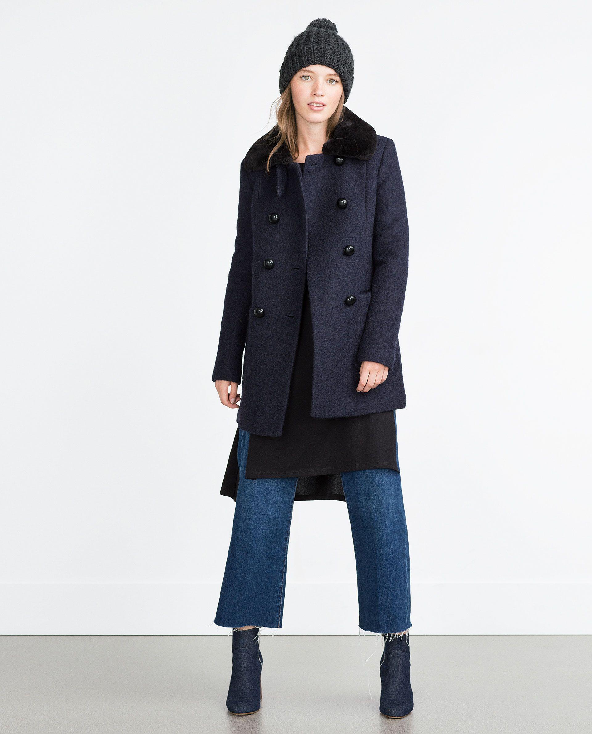 ZARA - WOMAN - MASCULINE COAT