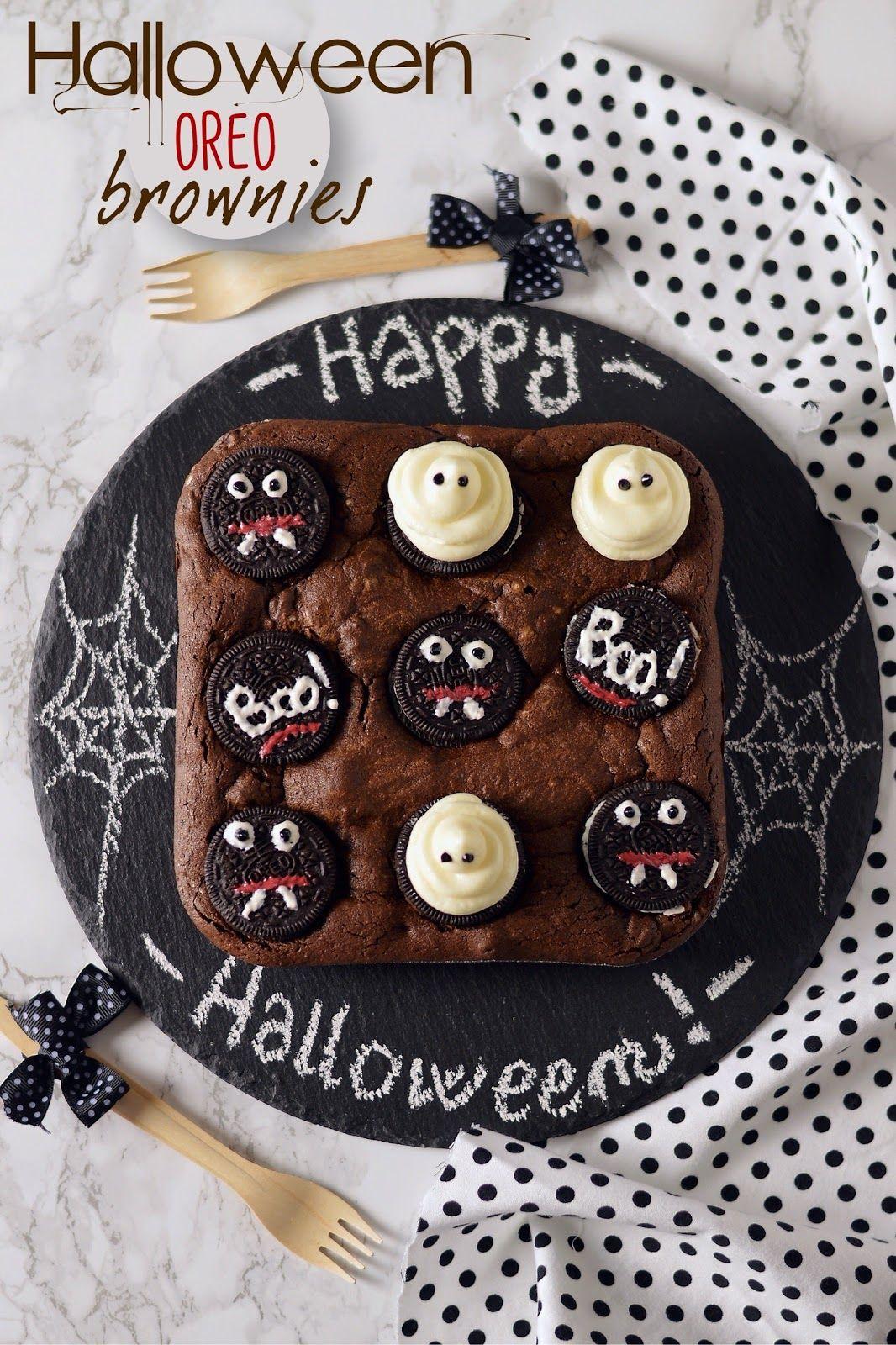 Su Sprinklesdress anche i brownies indossano costumi da Halloween!  Prendendo spunto da qualche foto trovata sul web 647e59dd36ad