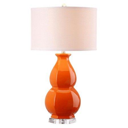 Safavieh Juniper Table Lamp - Orange