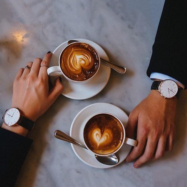 Кофе вдвоем в картинках, сватовством