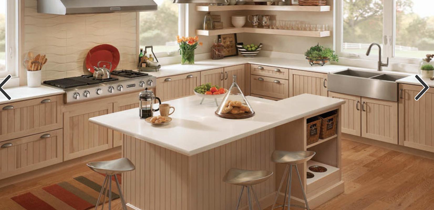 Seton Maple Parchment Kitchen Inspiration Design Kraftmaid Kitchen Cabinets Modern White Kitchen Cabinets