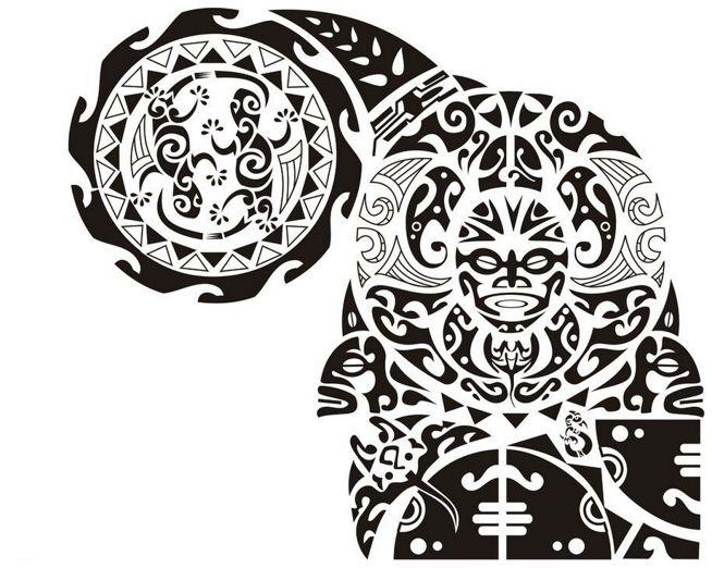 Polynesian Tattoo Design Meaning : Maori Polynesian Tattoo ...