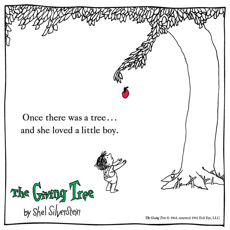 The Giving Tree - Shel Silverstein - Hardcover | The giving ...