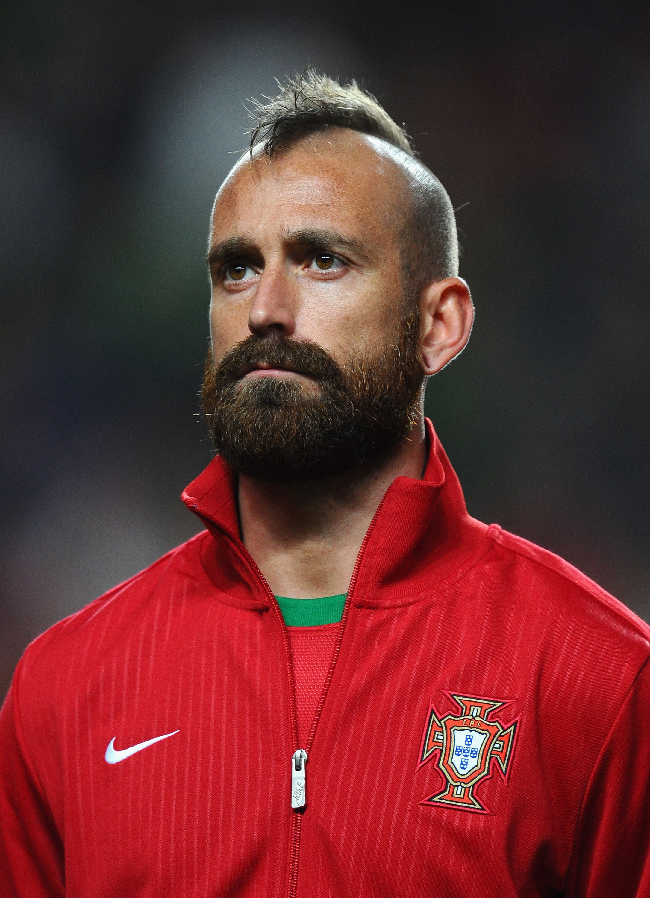 Portuguese soccer player Raul Meireles