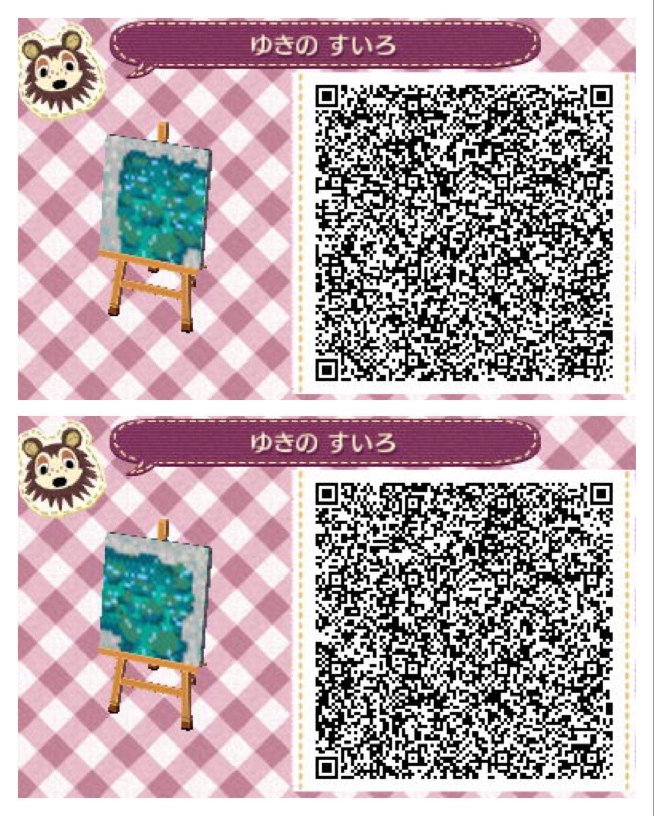 Animal Crossing New Leaf Hhd Qr Code Paths Animal Crossing Qr
