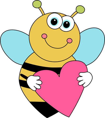 Bee Border Clip Art Cartoon Valentine S Day Bee Cute Cartoon Bee