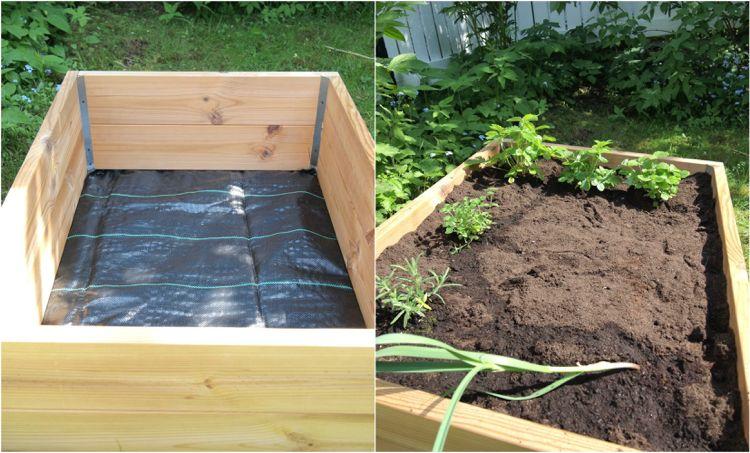 Der Boden Im Hochbeet Ist Besonders Wichtig Hochbeet Hochbeet Bepflanzen Pflanzen