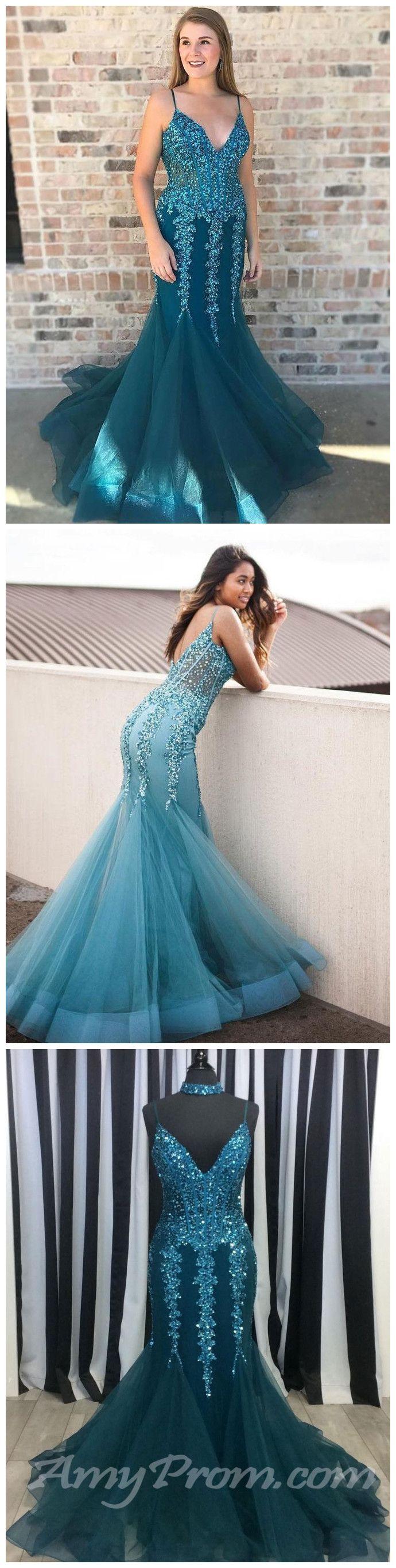 chic trumpetmermaid prom dresses beading long prom dress
