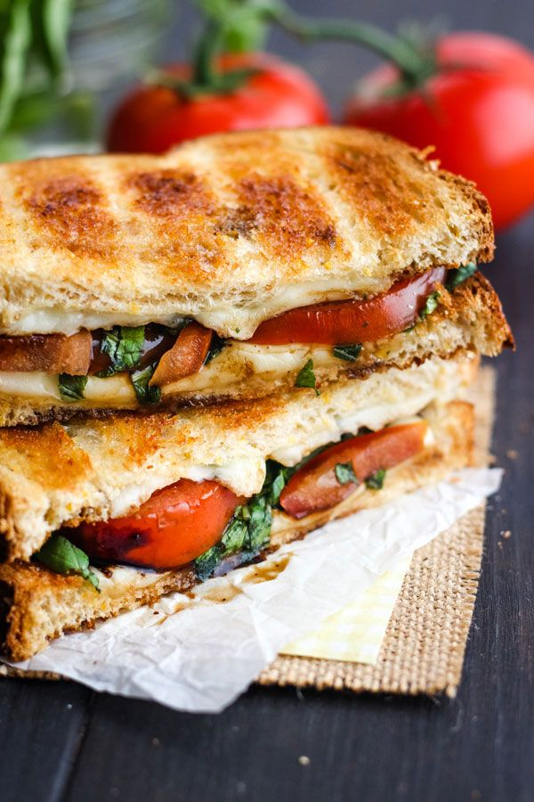 Toasted Caprese Sandwich images