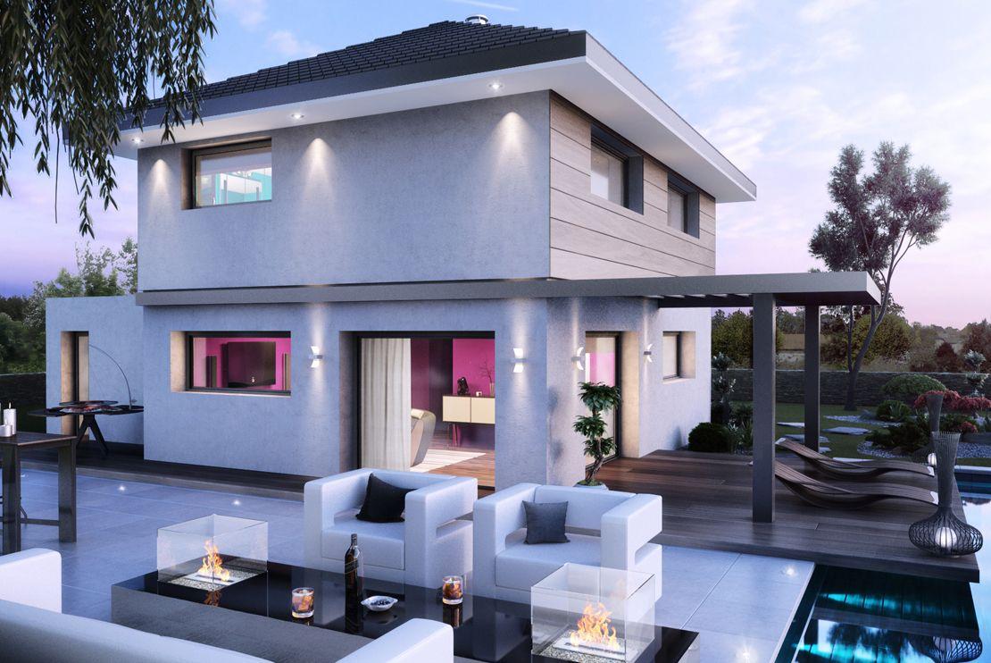 Construire sa maison bois simple with construire sa for Maison simple a construire