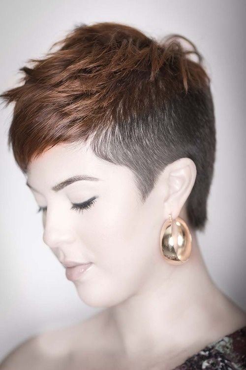 20 Shaved Hairstyles For Women Hairstyles Short Hair Styles