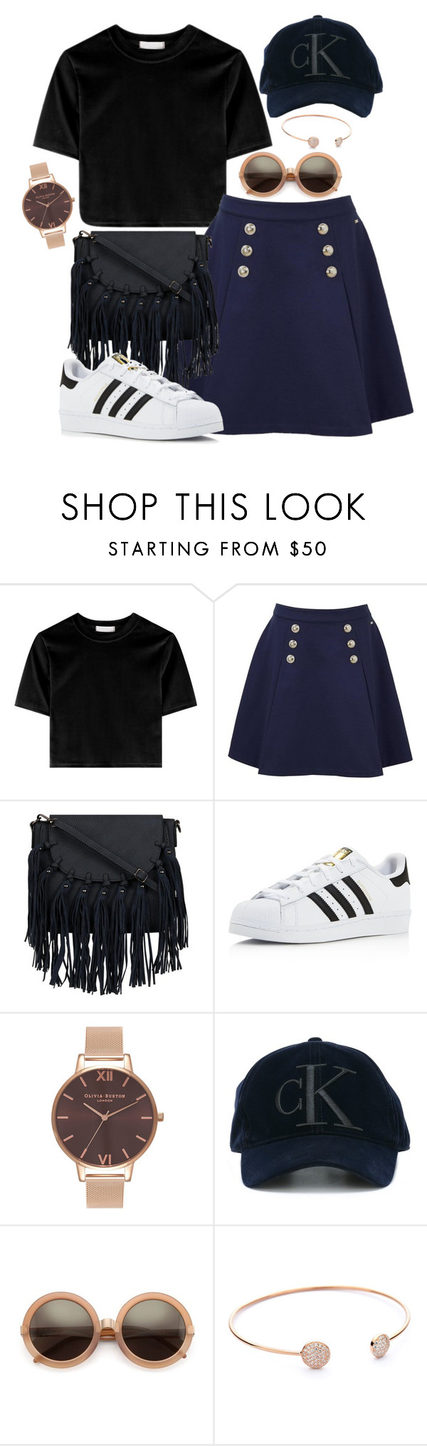 """""""Casual"""" by stephlv ❤ liked on Polyvore featuring Tommy Hilfiger, adidas, Olivia Burton, Calvin Klein Jeans and Wildfox"""