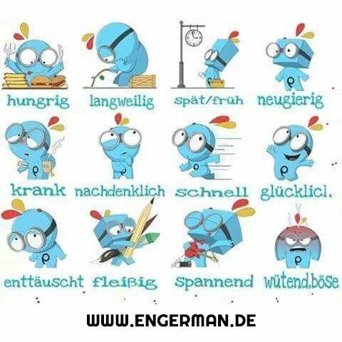 www.engerman.de - Emotionen - emoties - eigenschappen ...