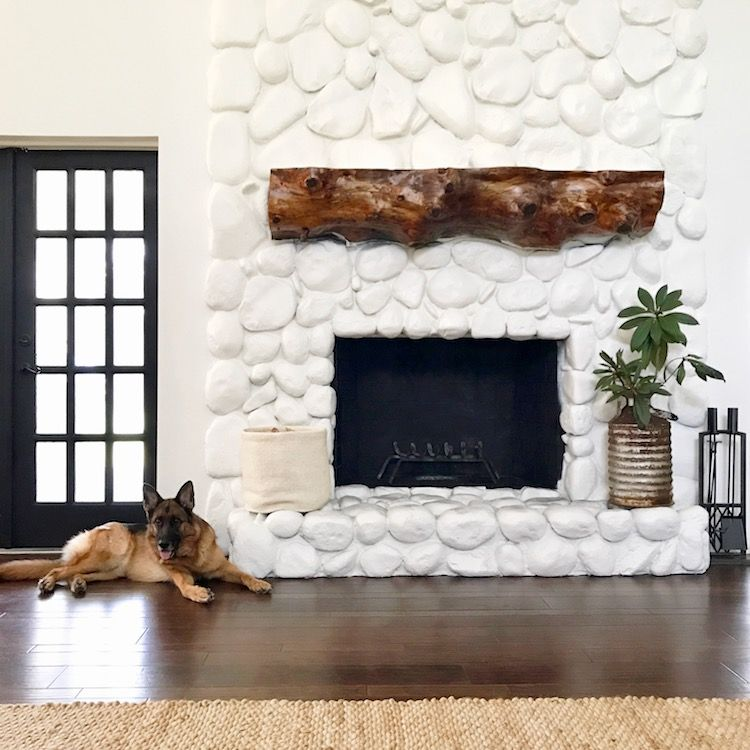 Friday Finds Weekly Recap Daly Digs Rock Fireplaces River Rock Fireplaces Stone Fireplace Makeover