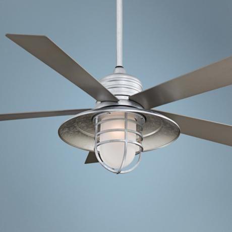 "54"" Minka Aire Rainman Galvanized Ceiling Fan | Ceiling fans ..."