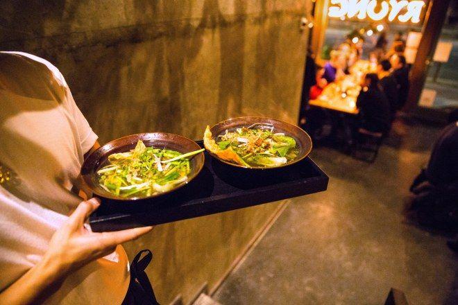 BEST VEGAN ASIAN FOOD IN BERLIN THE NEW u0027RYONGu0027 IN MITTE   - vegane küche berlin