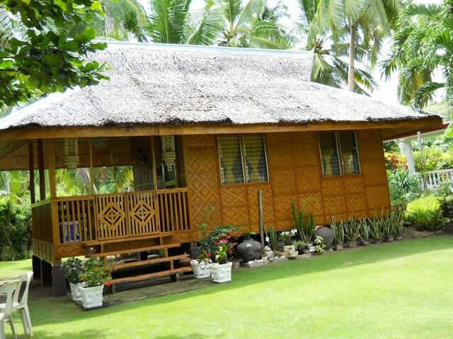 Bahay Kubo Philippine Nipa Hut  - simple house designs
