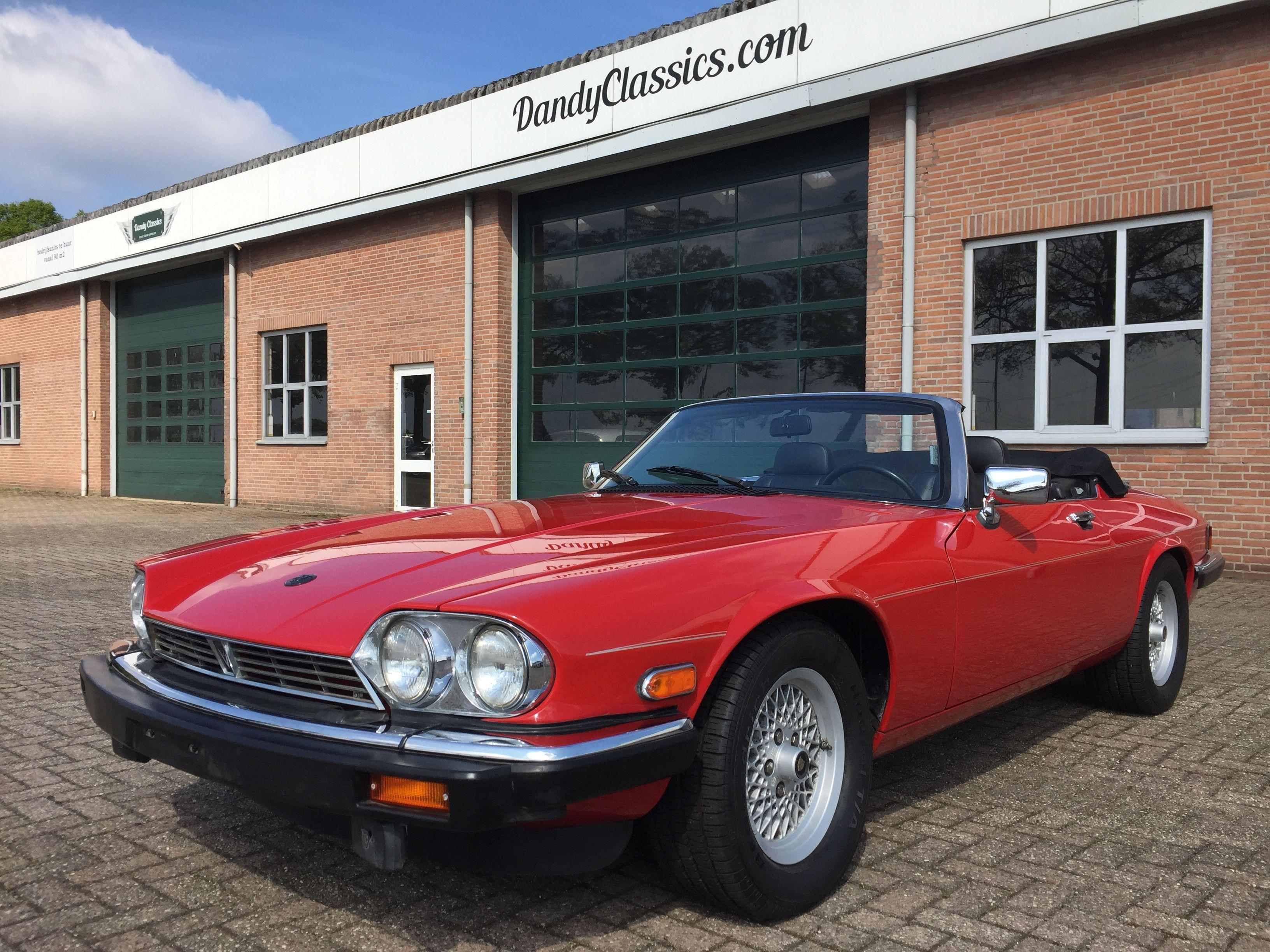 1989 Jaguar Xjs V12 Convertible For Sale Dandy Classics Jaguar Jaguar Xjs Convertible Convertible
