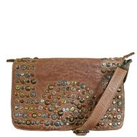 Cadelle Leather Clutch Bag - Eden - Camel  9d4e0fff01d36