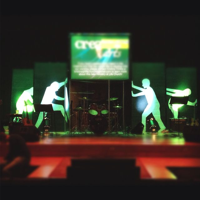 Church stage design for our series UNstuck http://www ...