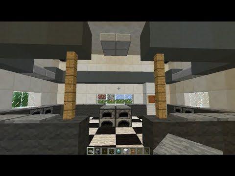 Minecraft Modern Interior Kitchen Design for Modern House