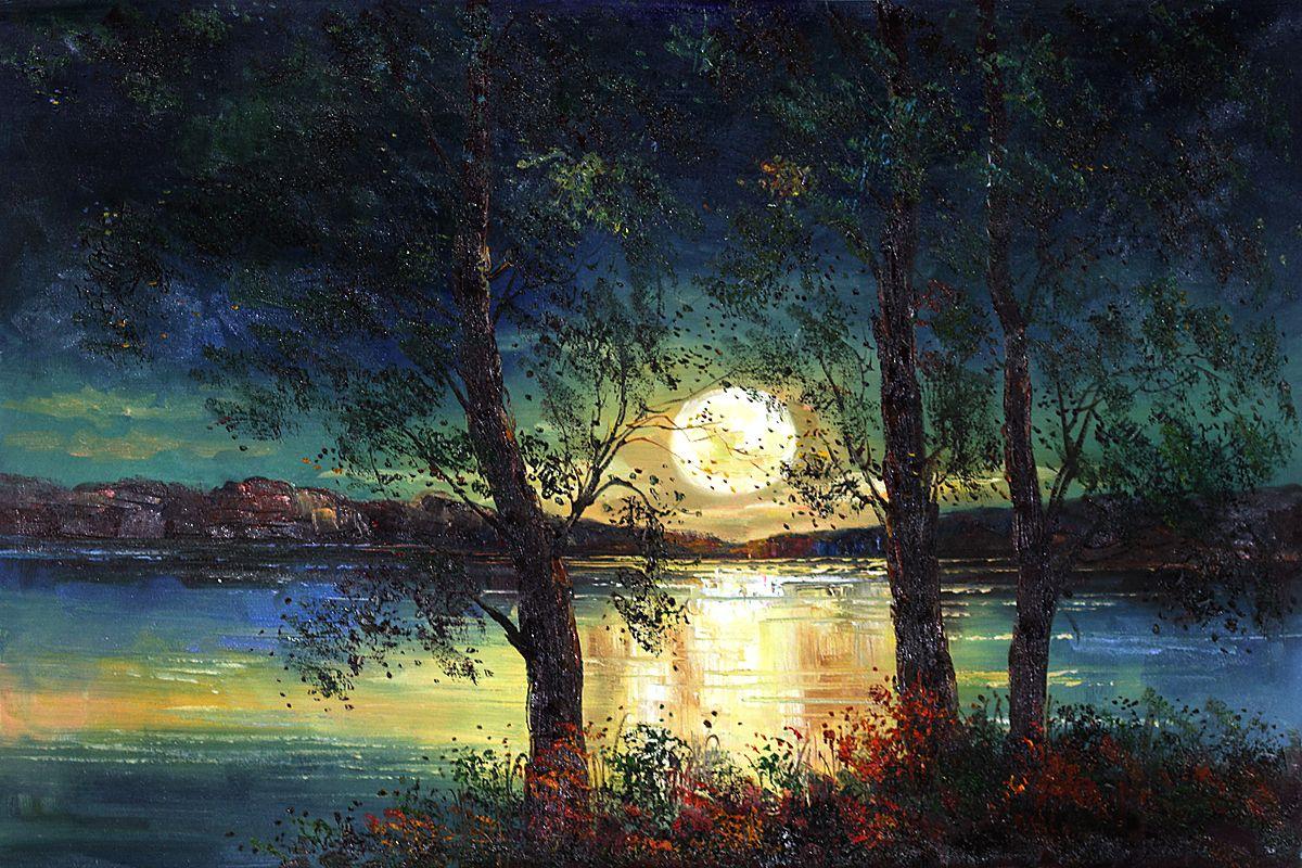 Justyna Kopania Original Framed Oil Paintings