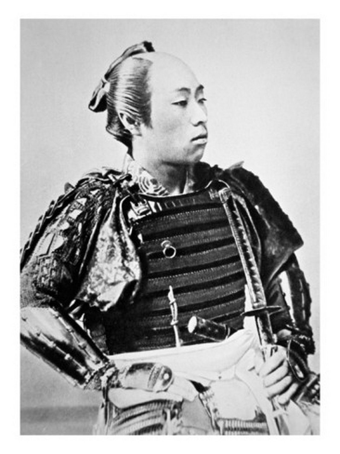 japanese photographer samurai of old japan with traditional