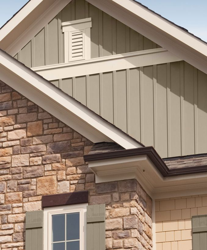 Decorative Vinyl Siding Options Cedar Shakes Board N Batten Home Exterior Pinterest