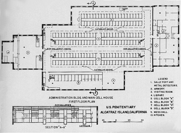 Image Result For Blueprints Of Alcatraz