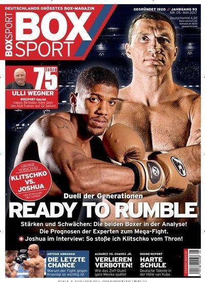 Boxsport Epaper Einzelheft Sport Box Und Boxer