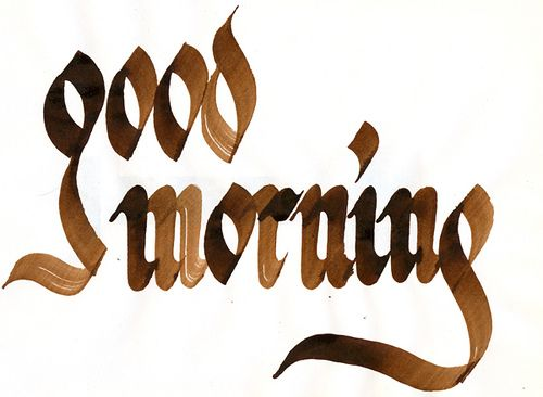 Good Morning By Gb Crowley Via Flickr  Write Me A Letter