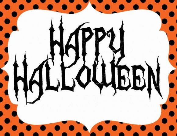 photograph about Happy Halloween Signs Printable identify No cost Halloween Printables in opposition to Seshalyn Functions Halloween