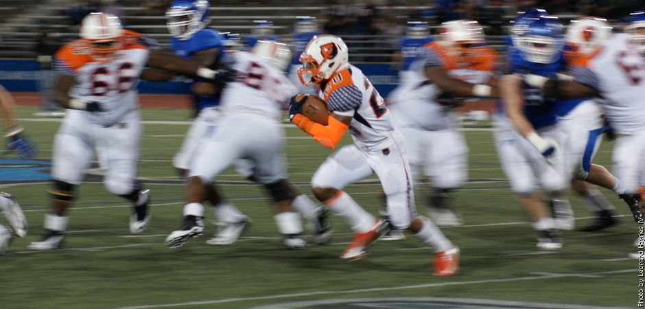 Oliver Carries Buffalo Over Morgan State 56 34 State University