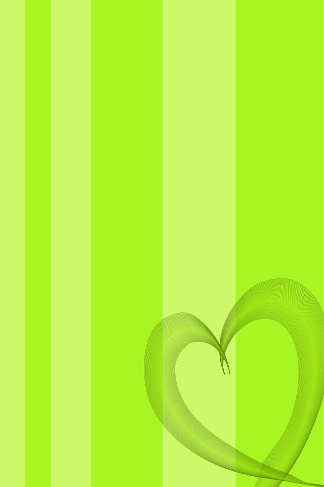 Cute Green Heart Wallpaper Wallpaper From Cocoppa Heart