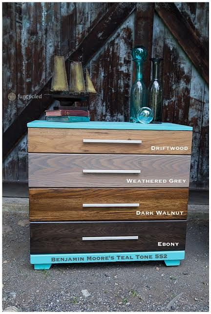 Stained Ombre Dresser Set Tuesday S