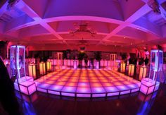 Led Platforms For Rent Can Create The Perfect Illuminated Dance Floor Stage Or Fashion Runway Dec Out Your Next Event In A Memorable Nyc Fas Dance Floor Rental