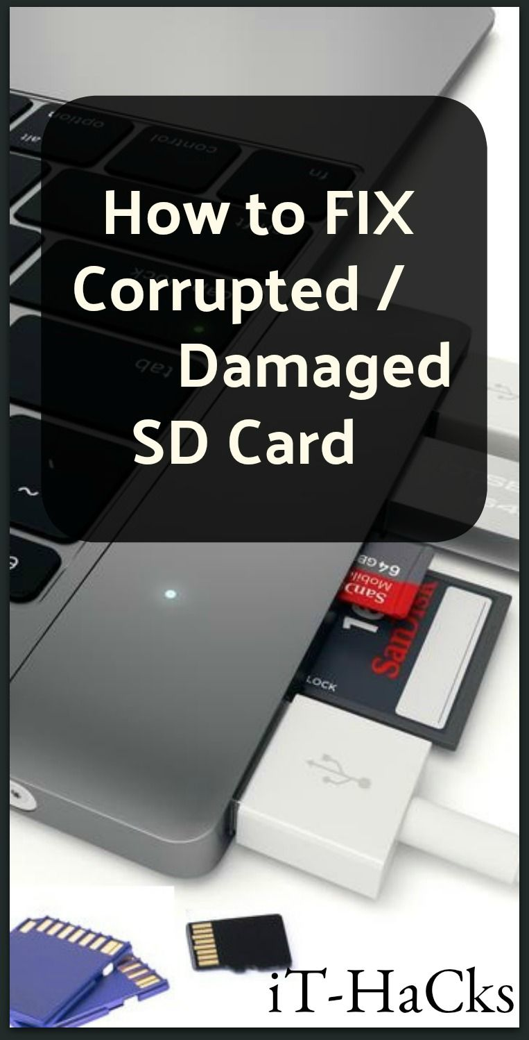 Pin on Fix corrupt sd cards
