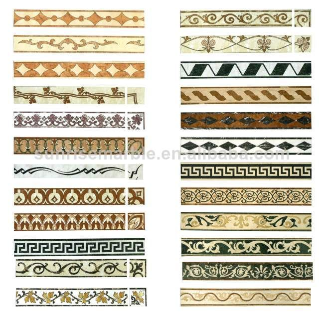 Buy Stone Decoration Water Jet Marble Border In China On Alibaba Floor TextureMarble