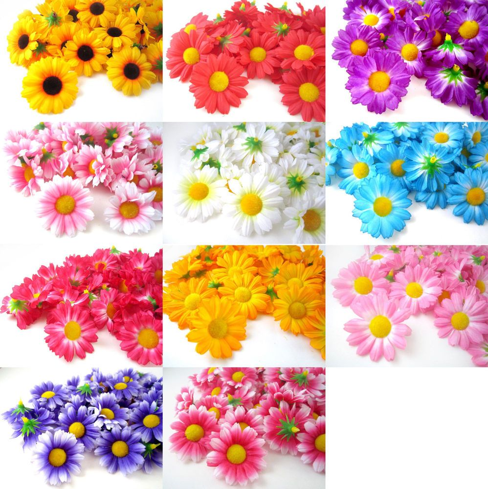 100pcs gerbera daisy heads 175 artificial silk flower wedding lot 100x gerbera daisy head artificial silk flower party wedding lot wholesale 175 unbranded izmirmasajfo